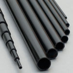 14mm (OD) x 12mm (ID) Carbon Tube - 1m Length
