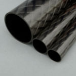 26mm (OD) x 24mm (ID) Carbon Tube - 1m Length