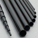 4mm (OD) x 2.5mm (ID) Carbon Tube - 2m Length