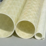 50mm (OD) x 46mm (ID) GRP Tube - 2m Length