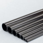 0.7mm (OD) x 0.3mm (ID) Carbon Tube - 1m Length Epoxy