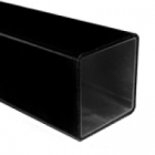 4mm x 2.5mmx 0.75mm (Wall) Carbon Sq Tube - 2m Length